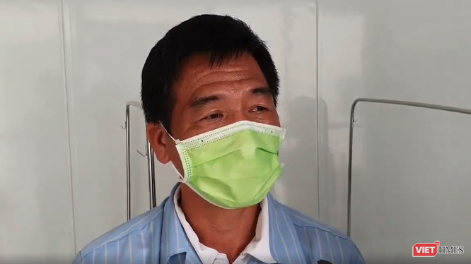 Bệnh nhân V. khỏe mạnh trong ngày ra viện. Ảnh: Minh Thúy