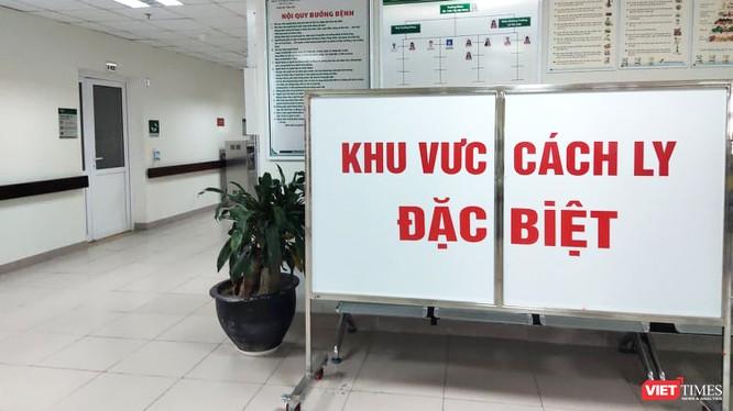 Khu vực cách ly đặc biệt tại Bệnh viện Bệnh Nhiệt đới Trung ương cơ sở 2. Ảnh: Minh Thúy