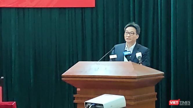 Phó Thủ tướng Vũ Đức Đam. Ảnh: Minh Thúy
