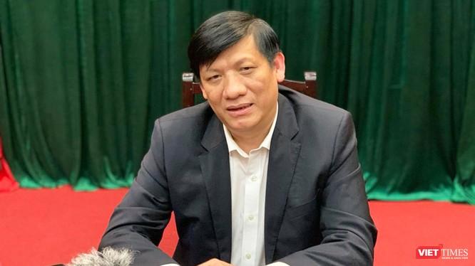 Thứ trưởng Bộ Y tế Nguyễn Thanh Long. Ảnh: Thanh Hằng