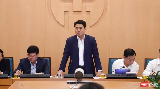 Ông Nguyễn Đức Chung - Chủ tịch UBND TP. Hà Nội. Ảnh: Minh Thúy
