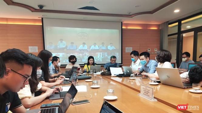 Cuộc họp Ban Chỉ đạo phòng, chống dịch COVID-19 TP. Hà Nội diễn ra với nhiều nội dung quan trọng. Ảnh: Minh Thúy