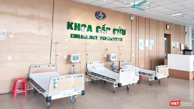 Khoa cấp cứu tại Bệnh viện Bệnh Nhiệt đới Trung ương. Ảnh: Minh Thúy