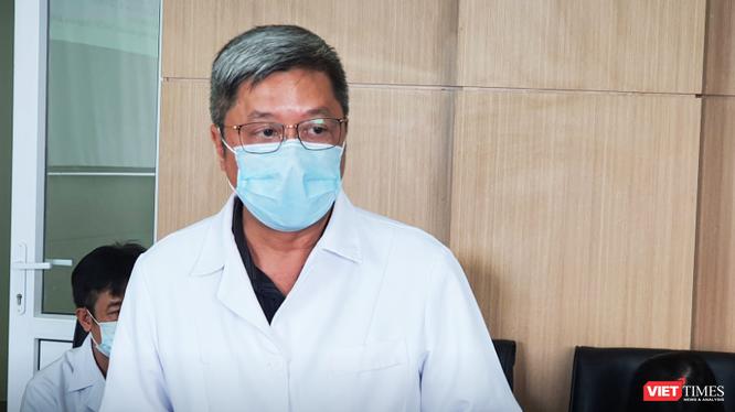Thứ trưởng Bộ Y tế Nguyễn Trường Sơn. Ảnh: Minh Thúy