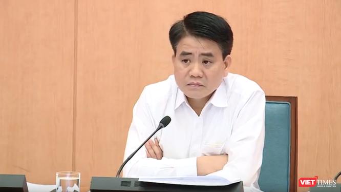 Ông Nguyễn Đức Chung – Chủ tịch UBND TP. Hà Nội. Ảnh: Minh Thúy
