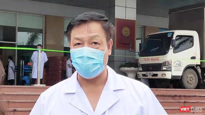 TS. Phạm Ngọc Thạch – Giám đốc Bệnh viện Bệnh Nhiệt đới Trung ương cơ sở 2. Ảnh: Minh Thúy