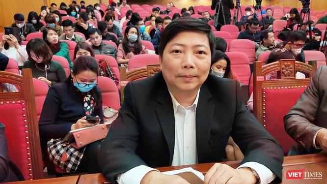 PGS. TS. Nguyễn Vũ Trung – Phó Giám đốc Bệnh viện Bệnh Nhiệt đới Trung ương cơ sở 2. Ảnh: Minh Thúy