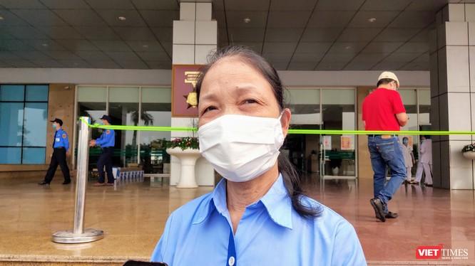 Bệnh nhân 200 mắc COVID-19 là nhân viên vệ sinh làm việc tại nhà ăn Bệnh viện Bạch Mai. Ảnh: Minh Thúy