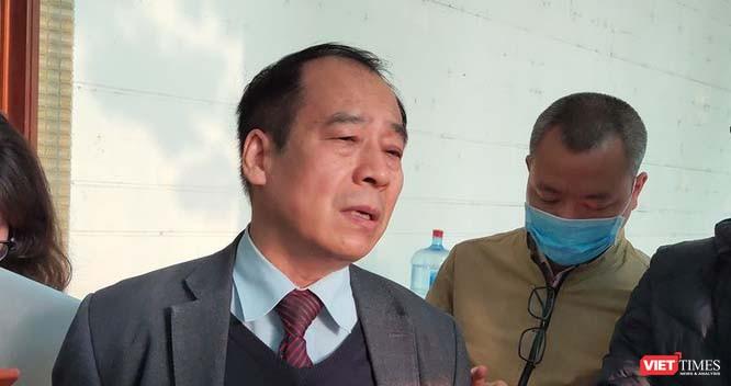 PGS.TS. Trần Đắc Phu - nguyên Cục trưởng Cục Y tế dự phòng. Ảnh: Minh Thúy