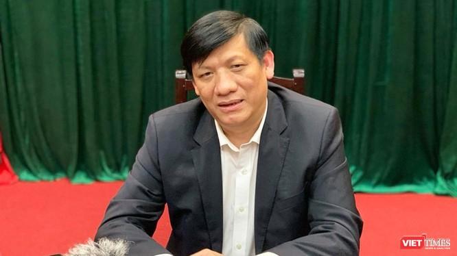 Thứ trưởng Thường trực Bộ Y tế Nguyễn Thanh Long. Ảnh: Thanh Hằng