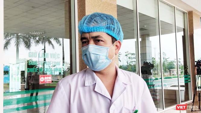 ThS. BS. Nguyễn Thanh Bình – Phó trưởng phòng Kế hoạch tổng hợp, Bệnh viện Bệnh Nhiệt đới Trung ương cơ sở 2. Ảnh: Minh Thúy