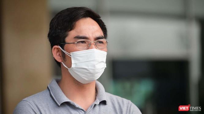 Bệnh nhân 137 mắc COVID-19 trong ngày được công bố khỏi bệnh. Ảnh: Hoàng Anh