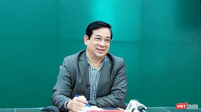 PGS. TS. Lương Ngọc Khuê - Cục trưởng Cục Quản lý Khám chữa bệnh (Bộ Y tế). Ảnh: Minh Thúy