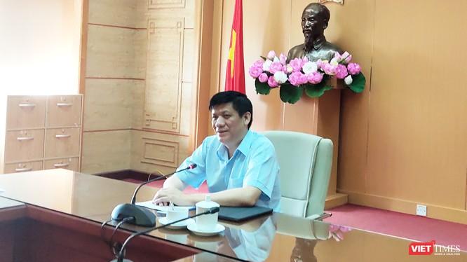 Thứ trưởng Thường trực Bộ Y tế Nguyễn Thanh Long. Ảnh: Minh Thúy