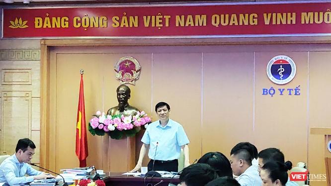 Thứ trưởng Bộ Y tế Nguyễn Thanh Long. (Ảnh: Minh Thúy)