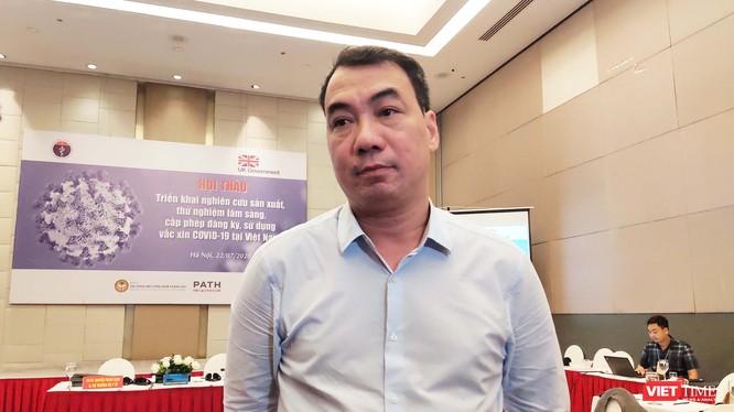 Ông Nguyễn Ngô Quang - Phó Cục trưởng Cục Khoa học Công nghệ và Đào tạo, Bộ Y tế (Ảnh: Minh Thúy)