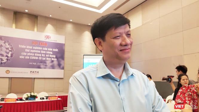Ông Nguyễn Thanh Long - Quyền Bộ trưởng Bộ Y tế (Ảnh: Minh Thúy)