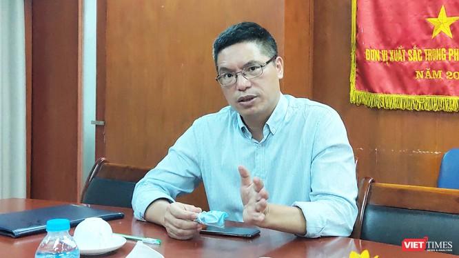 TS. Đỗ Tuấn Đạt – Chủ tịch Công ty TNHH một thành viên Vaccine và Sinh phẩm Số 1 (VABIOTECH) - (Ảnh: Minh Thúy)