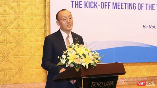 TS. Kidong Park – Trưởng Đại diện Văn phòng Tổ chức Y tế Thế giới (WHO) tại Việt Nam (Ảnh: Minh Thúy)