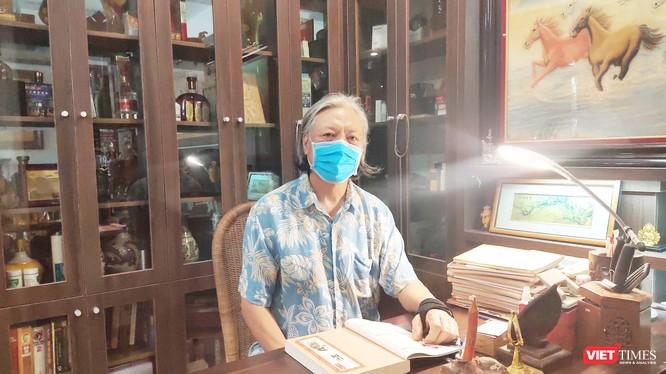 PGS.TS. Phạm Vũ Khánh – nguyên Cục trưởng Cục Quản lý Y dược cổ truyền, Bộ Y tế (Ảnh: Minh Thúy)