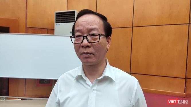PGS. Trần Minh Điển – Phó Giám đốc Bệnh viện Nhi Trung ương (Ảnh: Minh Thúy)
