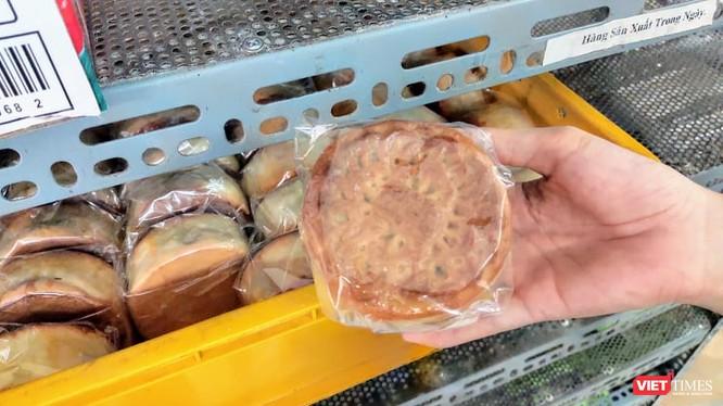 Bánh trung thu sản xuất trong ngày tại 1 cơ sở sản xuất ở quận Tây Hồ (Ảnh: Minh Thúy)