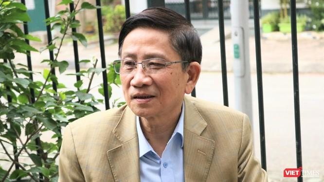 GS. Nguyễn Minh Thuyết – Chủ biên SGK Tiếng Việt 1 Cánh Diều (Ảnh: Minh Thuý)