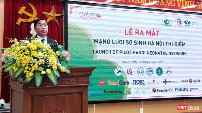 Ông Nguyễn Khắc Hiền – Giám đốc Sở Y tế Hà Nội (Ảnh: Minh Thúy)