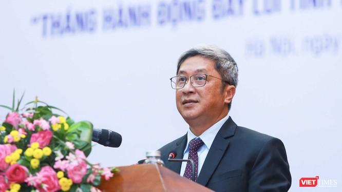 Thứ trưởng Bộ Y tế Nguyễn Trường Sơn (Ảnh: Đức Anh)