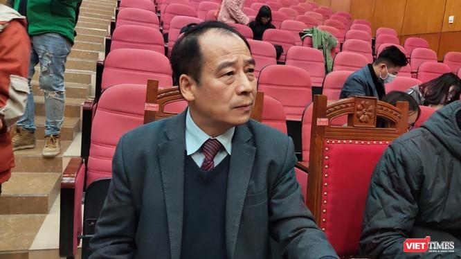 PGS. TS. Trần Đắc Phu - Cố vấn cao cấp Trung tâm Đáp ứng khẩn cấp sự kiện y tế công cộng Việt Nam (Ảnh - Minh Thuý)