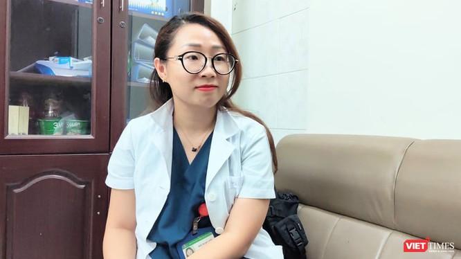 ThS. BS. Đới Ngọc Anh – Khoa Viêm Gan, Bệnh viện Bệnh Nhiệt đới Trung ương (Ảnh: Minh Thuý)