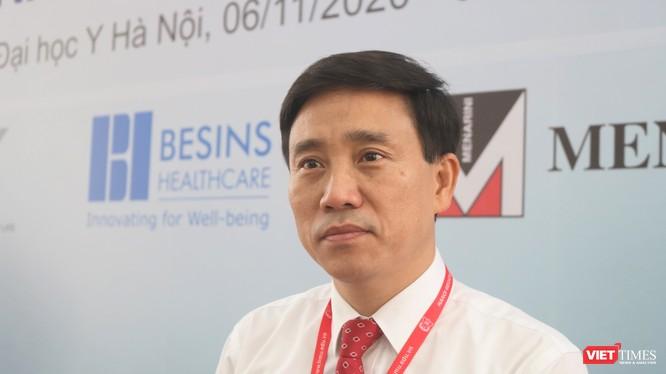 PGS. TS. Đoàn Quốc Hưng – Phó Hiệu trưởng Trường Đại học Y Hà Nội (Ảnh: Minh Thuý)