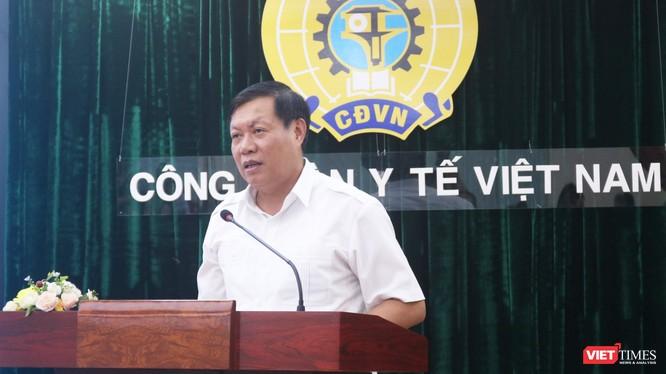 Thứ trưởng Bộ Y tế Đỗ Xuân Tuyên (Ảnh: Minh Thuý)