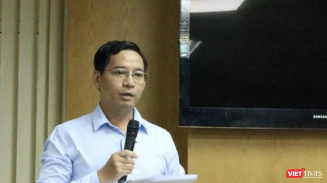 BS. Nguyễn Hữu Hải - Phó trưởng Phòng Điều trị HIV/AIDS, Cục Phòng, chống HIV/AIDS, Bộ Y tế (Ảnh: Minh Thuý)
