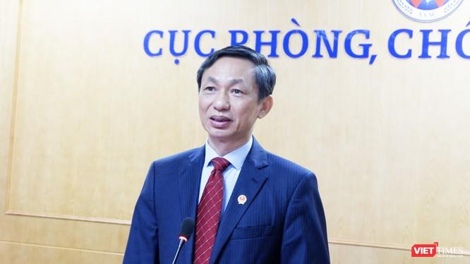 PGS. TS. Nguyễn Hoàng Long – Cục trưởng Cục Phòng, chống HIV/AIDS (Ảnh: Minh Thuý)