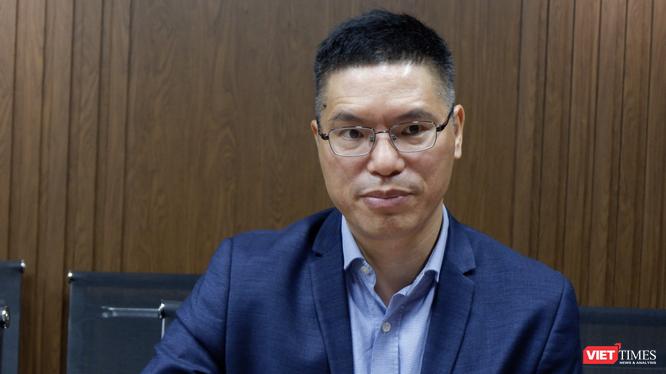 TS. Đỗ Tuấn Đạt – Chủ tịch Công ty TNHH một thành viên Vaccine và Sinh phẩm Số 1 (VABIOTECH) (Ảnh: Minh Thuý)