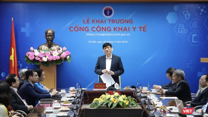 Ông Nguyễn Thanh Long - Bộ trưởng Bộ Y tế (Ảnh: Minh Thuý)