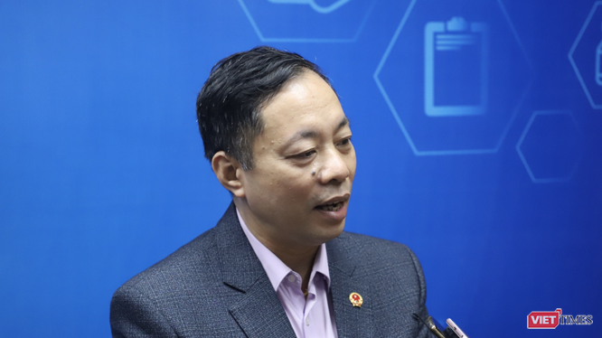 Ông Vũ Tuấn Cường – Cục trưởng Cục Quản lý Dược, Bộ Y tế (Ảnh: Minh Thuý)