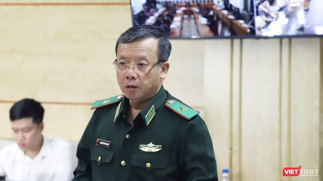 Thiếu tướng Nguyễn Đức Mạnh – Phó tư lệnh Bộ đội Biên phòng (Ảnh: Minh Thuý)
