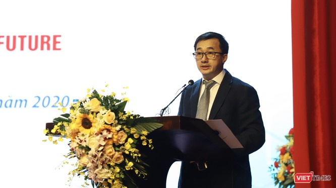 Ông Trần Văn Thuấn - Thứ trưởng Bộ Y tế (Ảnh: Minh Thuý)