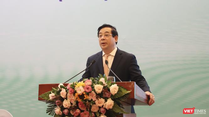 PGS.TS. Lương Ngọc Khuê - Cục trưởng Cục Quản lý Khám chữa bệnh (Bộ Y tế) (Ảnh: Minh Thuý)