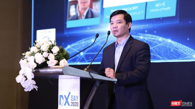 Ông Nguyễn Trường Nam – Phó Cục trưởng Cục Công nghệ thông tin, Bộ Y tế (Ảnh: Minh Thuý)