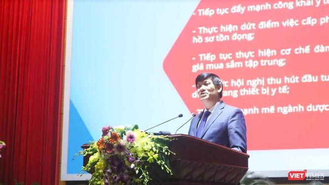 Bộ trưởng Bộ Y tế Nguyễn Thanh Long (Ảnh: Minh Thuý)