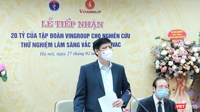 Bộ trưởng Bộ Y tế Nguyễn Thanh Long (Ảnh - Minh Thuý)