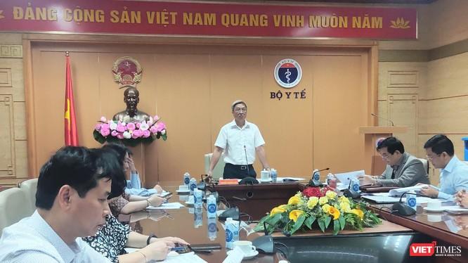 Hội nghị trực tuyến với 63 tỉnh, thành ra mắt Ban chỉ đạo An toàn tiêm chủng vaccine phòng COVID-19, tập huấn hướng dẫn xử trí sự cố bất lợi sau tiêm vaccine phòng COVID-19 (Ảnh - Minh Thuý)