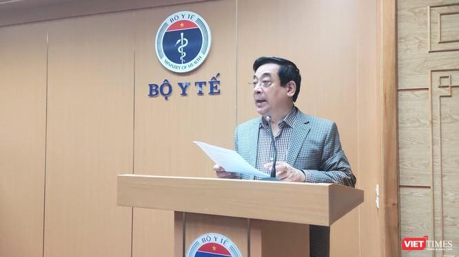 PGS. TS. Lương Ngọc Khuê – Cục trưởng Cục Quản lý Khám, chữa bệnh (Bộ Y tế) (Ảnh - Minh Thuý)