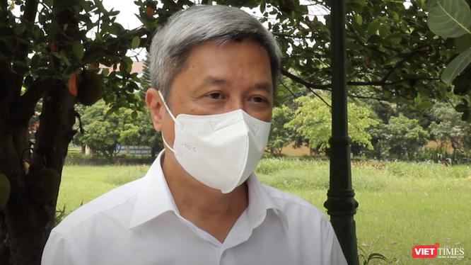 Thứ trưởng Bộ Y tế Nguyễn Trường Sơn (Ảnh cắt từ video - nguồn: BYT)