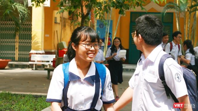Thí sinh tham dự kỳ thi tuyển sinh lớp 10