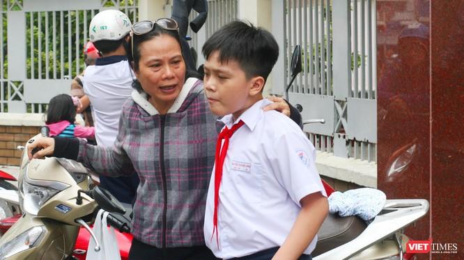 Học sinh dự thi vào lớp 6 của trường THPT Chuyên Trần Đại Nghĩa