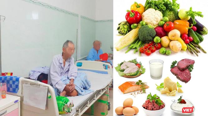 Bệnh nhân đang điều trị ung thư